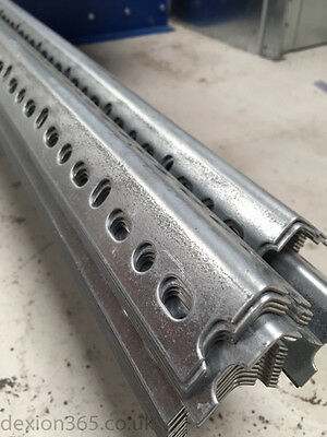 5 x 3000mm Dexion Slotted Angle 140 (Galvanised)