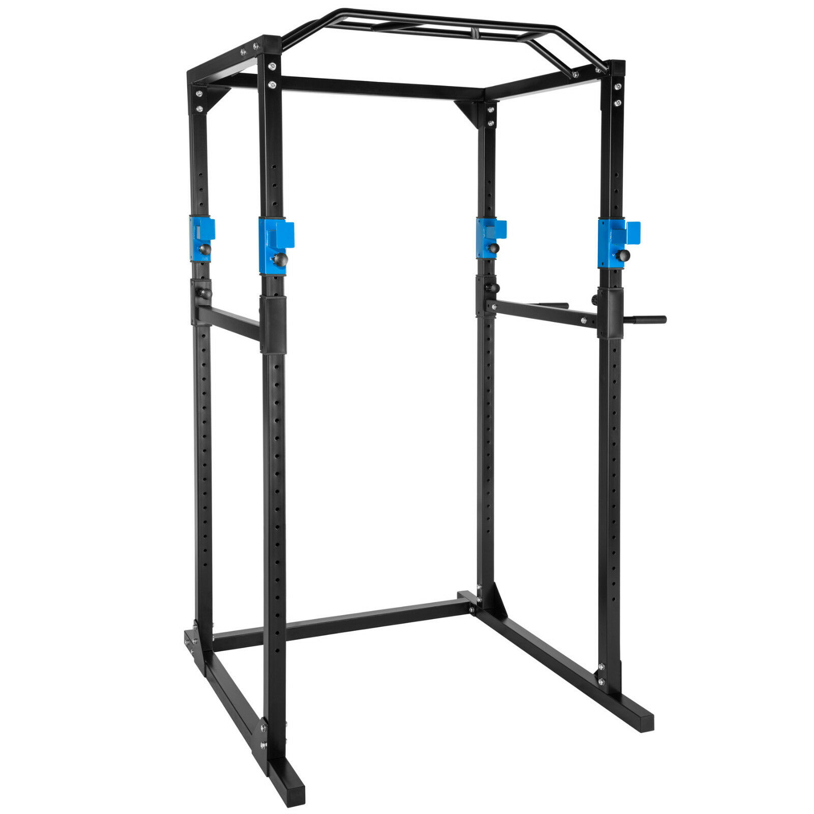 Station de musculation cage musculation dips fitness gym traction Blau schwarz