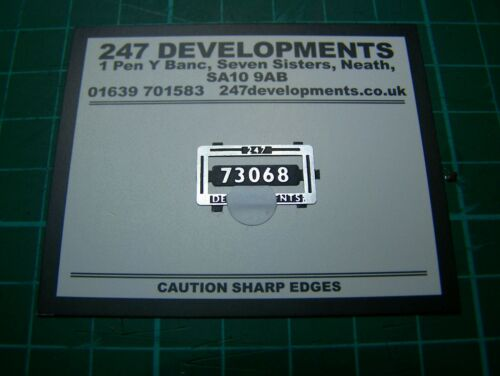 7mm BR Std 5 4-6-0 SmokeBox No 73068