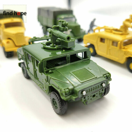 1//72 Scale Military Vehicle Model Puzzles Building Soldier Car M1046 KFZ.305