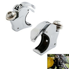 39mm Fork Windshield Windscreen Clamps For Harley Dyna /& Sportster XL 883 1200