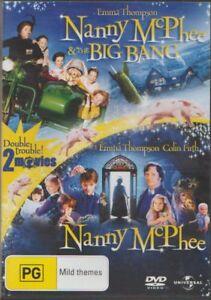 D.V.D MOVIE  DB871    NANNY McPHEE & THE BIG BANG PLUS NANNY McPHEE        DVD