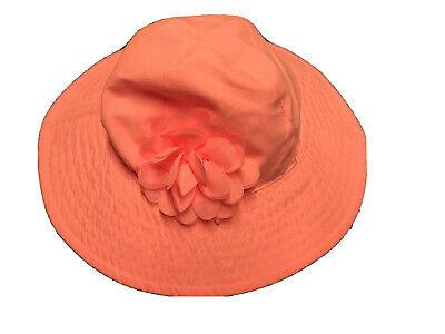 Cream and Stone Rose Flower Newborn Hat Baby Cloche Hat Girl Flower Hat Christmas 0 to 3m Newborn Baby Hat Flower Sun Hat