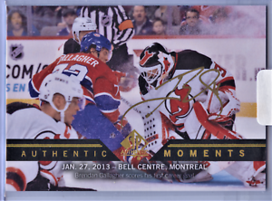 UD-SP-AUTHENTIC-13-14-AUTHENTIC-MOMENTS-BRENDAN-GALLAGHER-RARE-GOLD-AUTO