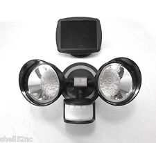 Solar Spot Light Motion Sensor Outdoor 36 LED Dual Security Flood Light - Black