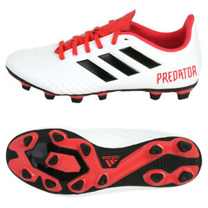 new style dc7ec ad361 Image is loading Adidas-Predator-18-4-FxG-CM7669-Soccer-Cleats-