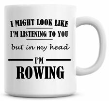 Details about  /Rowing Mug Black Coffee Cup Funny Gift for Rower Crew Shell Single Scull Him