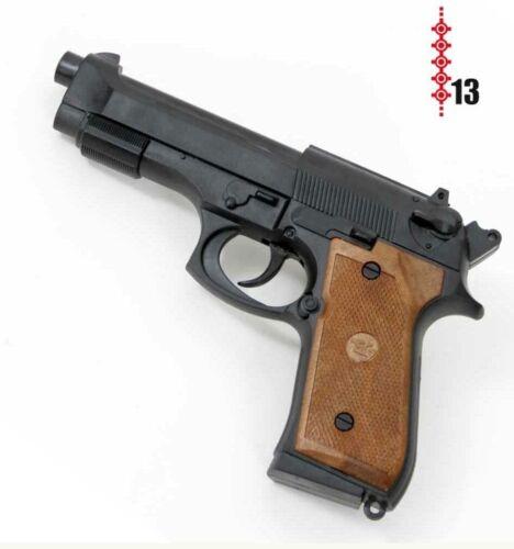 Pistole Parabellum Polizei Agent SWAT FBI Spielzeugpistole 13 Schuss Kinder CSI