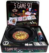 Casino ROULETTE 5 in1 Game Set