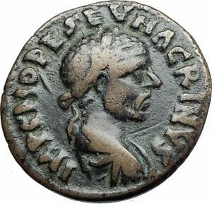 MACRINUS-217AD-Parium-Parion-MYSIA-Authentic-Ancient-Roman-Coin-GENIUS-i79982