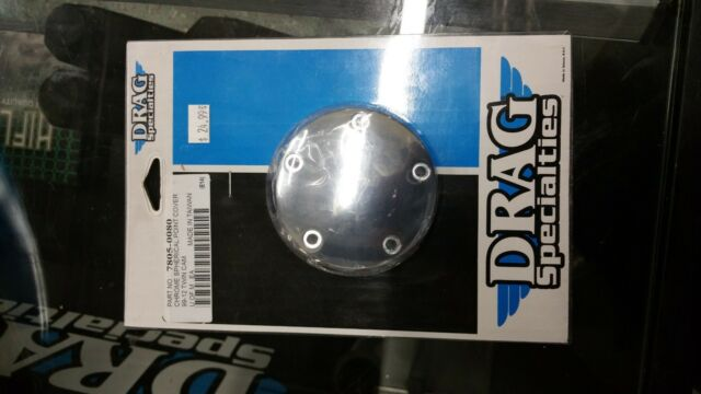 Touring Dyna Chrome Ignition Cam Chest Points Cover Trim Harley Big Twin Cam 99
