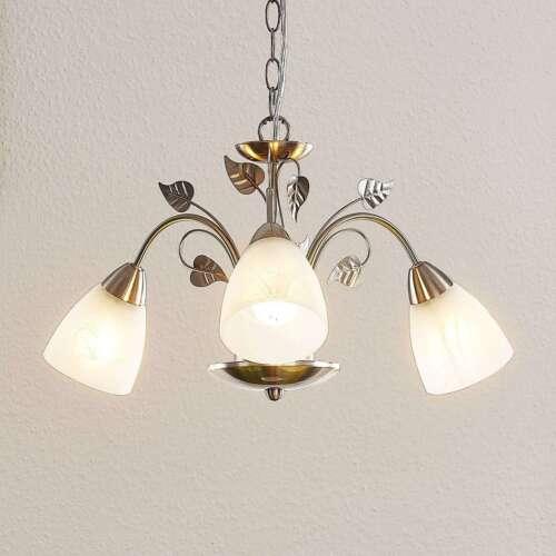 Hängeleuchte Yannie Lindby E14 LED Esszimmer Küche Pendelleuchte Modern Nickel