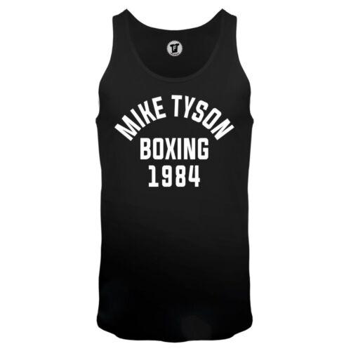 FABTEE Mike Tyson Boxing 1984 Gym Fitness Bodybuilding Sport Freak Tank Top