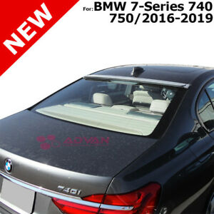 For Bmw 7 Series 740 750 2016 2019 Black Sapphire 475 Painted Abs Roof Spoiler Ebay