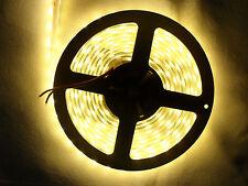 5 Meter warmweiß LED Strip Streifen SMD 5050 IP68 Wasserdicht 300 LEDs 5M