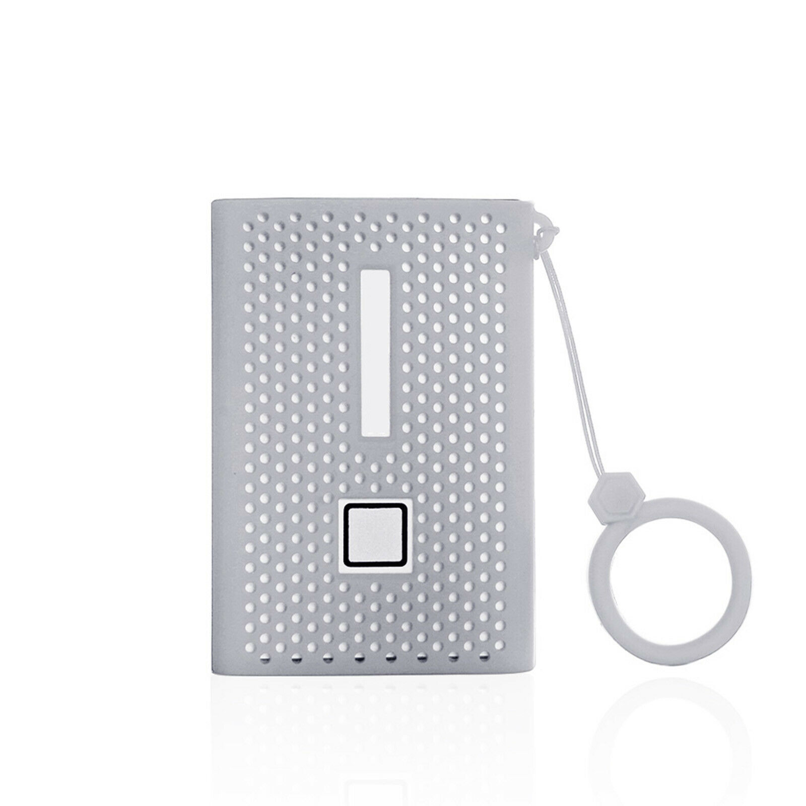 Grey Carrying Storage Bag Grey Lining Hard Case for Samsung T7 Touch Portable SSD 1TB//2TB//500GB case only, fits 1 SSD