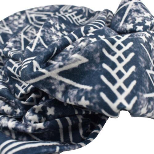 AM/_ KE/_ 2Pcs Baby Boy Girls Floral Stretch Sleeping Swaddle Blanket Hat Head Wra