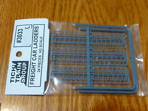 Includes 2 Each of 6 Tichy Train Group HO #3033 Freight Car Ladder Set