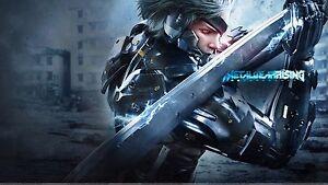 Image Is Loading Metal Gear Rising Raiden Sword