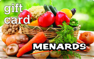 Details about menards gift card $10