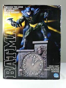 BATMAN-cold-cast-porcelain-Statue-CLOCK-TOWER-Limited-to-3500-DC-Direct-1999
