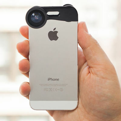 3 in 1 Fish eye + Wide Angle + Photo Zoom Lens Macro Camera Kit for iPhone 5 5s