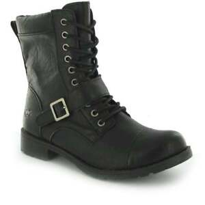 dd5a912010d3 Image is loading Ladies-Girls-Rocket-Dog-Birmingham-Military-Lace-Up-