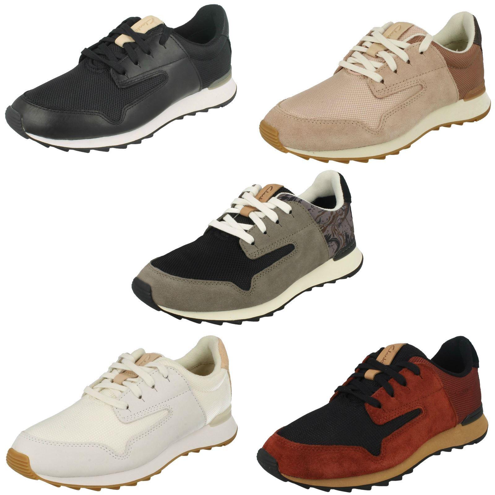 Venta de liquidación de temporada Clarks Zapatos Estilo entrenador señoras-floura Mix