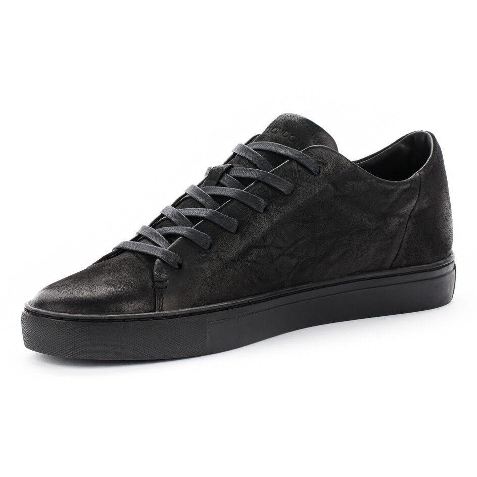 CRIME LONDON Herren Schuhe Schuhe Schuhe schwarz mit Schnürung 100% Leder mod AMUSE  9d1180