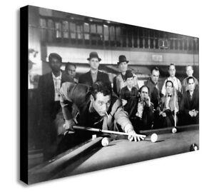 The-Hustler-Paul-Newman-Canvas-Wall-Art-Framed-Print-Various-Sizes