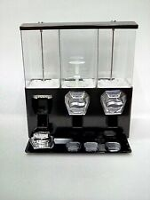 Candy Vending Machine Coin Mechanisms 3 Containers Damaged