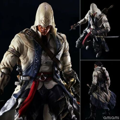 Play Arts Kai Connor Kenway PVC Action Figure New In Box Assassin/'s Creed 3