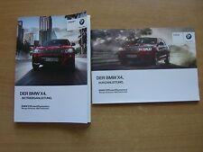 Betriebsanleitung BMW X4 xDrive 20i 28i 35i 20d 30d 35d  02.2014