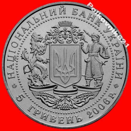 "Ukraine 5 hryvnia 2006   /""15 years of independence/"""