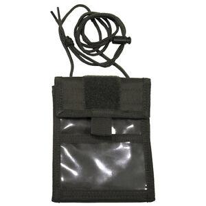 Brustbeutel-Brusttasche-Umhaengebeutel-Geldboerse-oliv-aufklappbar-MFH-Outdoor