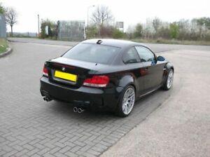 For-E88-E82-M1-Rear-Bumper-Diffuser-addon-with-Pdc
