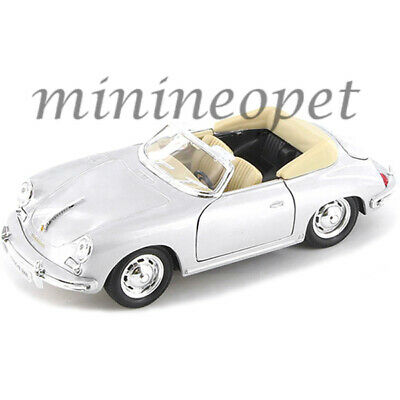 WELLY 24090 1948 PORSCHE 356 NO.1 ROADSTER 1//24-1//27 DIECAST MODEL CAR SILVER