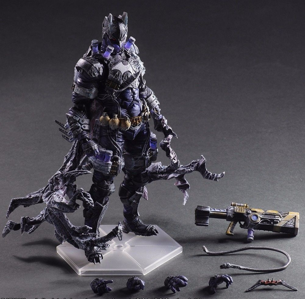 Dc comics - variante spielen kunst galerie kai batman und schurken, mr. freeze action - figur