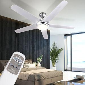 LED-20W-Decken-Ventilator-LEISER-137cm-Wind-Luefter-mit-Fernbedienung-Beleuchtung
