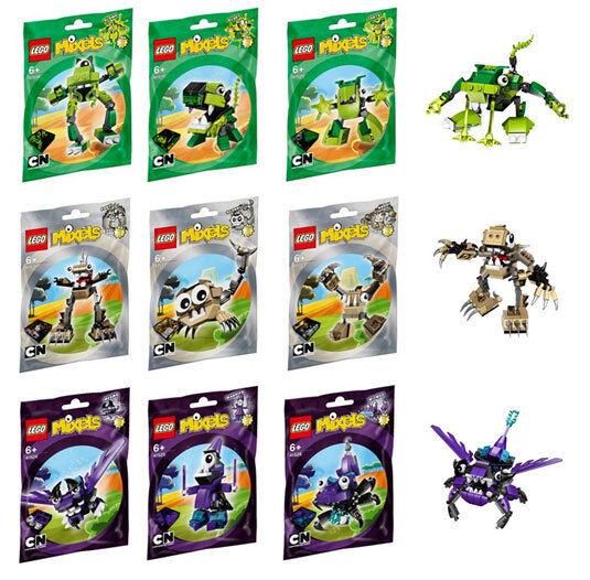 LEGO MIXELS SERIES 3 COMPLETE SET NEW