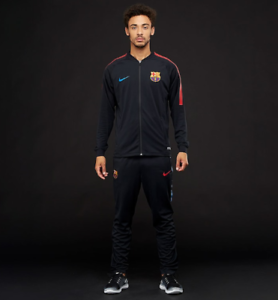 78ca9037 Nike FC Barcelona 17/18 Dry Squad Men's Football Tracksuit - 854341 ...