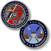 U.s. Coast Guard / Boat Forces Cutter Operations - Uscg Challenge Coin