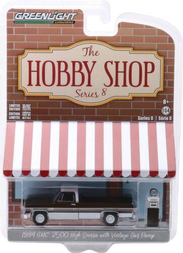 Greenlight Hobby Shop Series 8 1984 GMC 2500 High Sierra Pick Up Truck