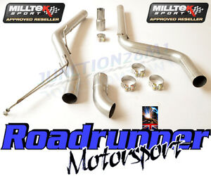 VW-Caddy-Milltek-Exhaust-2-0-TDi-140PS-2WD-Particulate-Filter-Back-Non-Res-Disc