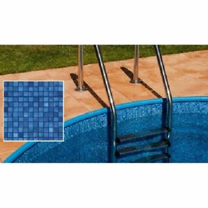 Poolfolie rund mosaikfliese m x m x 0 6 mm for Schwimmbad innenfolie