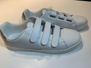 15ef7e70c5a21 Details about New Tretorn Women's CARRY2 Antique White Leather Sneakers  Hook & Loop Size 6.5