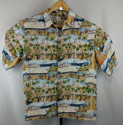 KYS Hawaiian Orchid Aloha Shirt