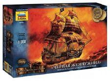 ZVEZDA 6513 BLACK PEARL CAPTAIN JACK SPARROW SHIP PIRATES OF THE CARIBBEAN 1/350