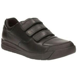 Genossenschaft Clarks Bootleg Monte Lite Senior Boys Leather School Shoes Size 6 H ( Eu 39.5 )