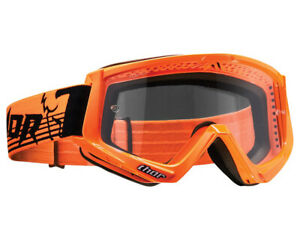 Thor Conquer Goggles Motocross Enduro Off Road Glasses Black//White
